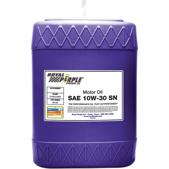 SAE 10W-30 High Performance Synthetic Motor Oil