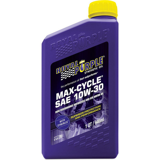 Max-Cycle 10W-30 Synthetic Motorcycle Oil