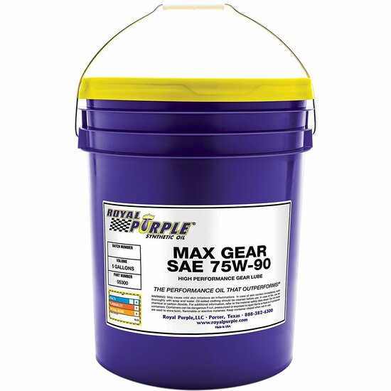Max Gear 75W-90 Synthetic Gear Oil