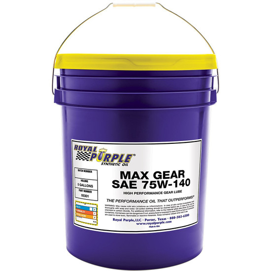 Max Gear 75W-140 High Synthetic Gear Oil