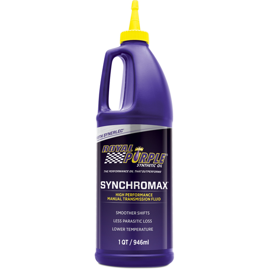 Royal Purple Synchromax Manual Transmission Fluid