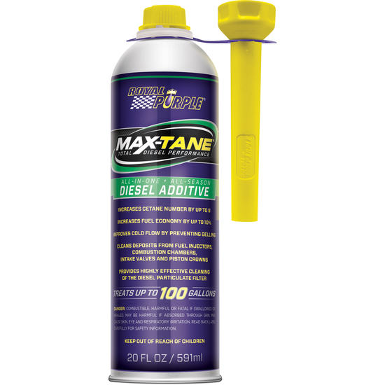 MAX-TANE DIESEL FUEL INJECTION CLEANER