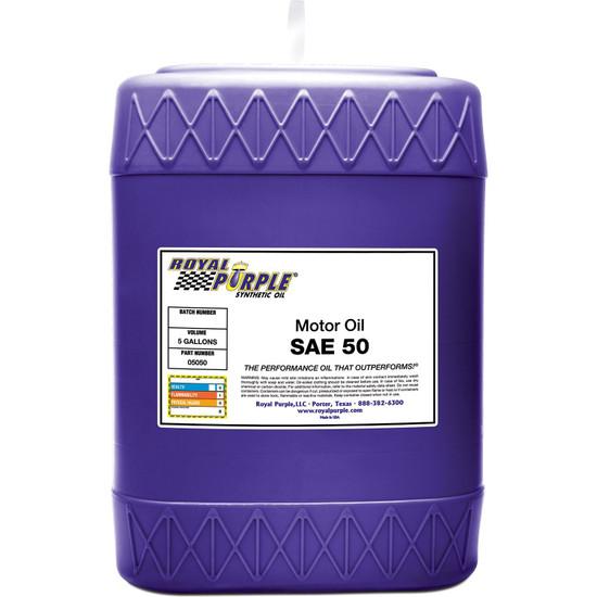 5 gallon - SAE 50 High Performance Synthetic Motor Oil