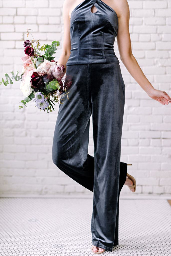 Sample Harlow Velvet Pants