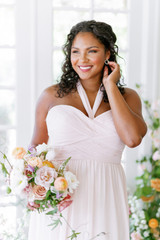 Model: Charisse, Size: 16, Color: Blush