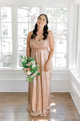 Model Claudia, Size: 16, Color: Rose Gold