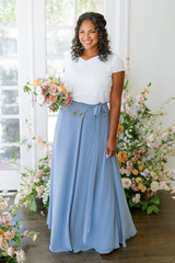 Model: Charisse, Size: 16, Color: French Blue