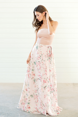 Lindsey, Size: Small, Color: Blush Floral