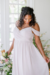 Model: Charisse, Size: 16, Color: Taupe