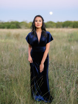 Model: Kimberly, Size: 4, Color: Navy