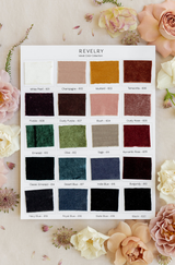 Full velvet swatch color collection
