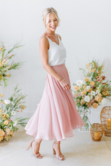 Model: Britt, Size: 4, Color: Antique Blush