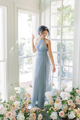 Model: Kamilah, Size: 2, Color: French Blue