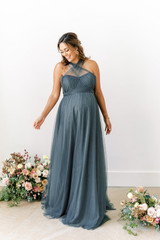 Model: Amanda, Size: 12, Color: Eucalyptus