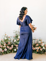 Model: Claudia, Size: 16, Color: Navy Blue