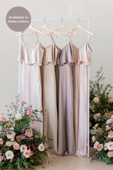 Bardot is available in Soft Champagne, Gold Champagne, Taupe, and Blush (named from left to right).