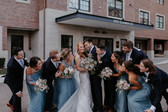 Joanna + Russell's Micro Wedding in French Blue
