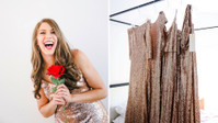 """Pizza, Wine, And Sequins Come Together For The Perfect """"Bachelorette"""" Watch Party"""