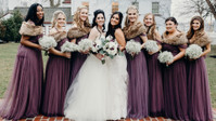 2 Beautiful Brides And Their Babes In The Prettiest Purples Make For A Pinterest-Perfect Day