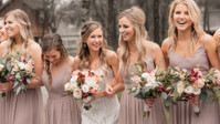 This Boho-Infused Day Couldn't Be Any More Beautiful With The Bride *And* Her Babes In Revelry