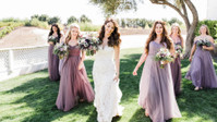 Lifestyle Blogger Jenna Rose's California Wedding Was Positively Perfect With Pops Of Purple