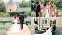 """Dean Geyer From """"Glee"""" and Jillian Murray From """"Code Black"""" Tie the Knot in a Sparkling California Ceremony"""
