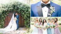 This Stylish Couple's Whimsical Pastel Wedding is the Making of a Modern Day Fairytale