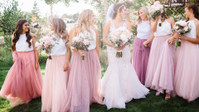 A Mountainous Moab Wedding Full Of Perfectly Pink Hues And DIY Details