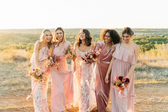 The Art of Mix and Match Bridesmaid Dresses