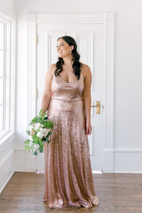Model: Claudia, Size 16, Color: Rose Gold