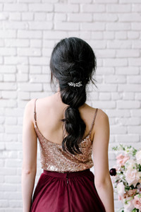 Home Try-On Ivy Sequin Top