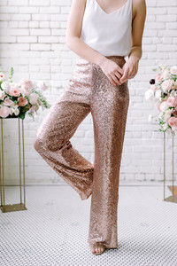 Home Try-On Jackie Sequin Pants