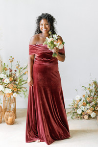 Model: Charisse, Size 16, Color: Romantic Rose