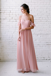 Model: Lindsey, Size: 4, Color: Antique Blush