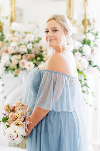 Model: Beth, Size: 20, Color: French Blue
