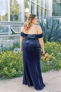 Model: Erica, Size: 20, Color: Royal Blue