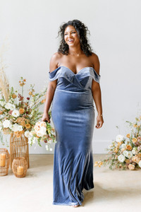 Model: Charisse, Size: 16, Color: Indie Blue