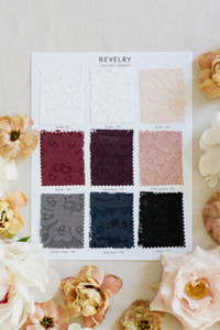 Full lace color collection swatch page