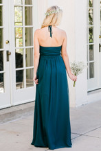 Hannah Bridesmaid Dress in Enchanted Forest Chiffon