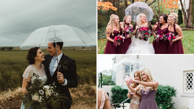 5 Reasons To Rejoice For Rain On Your Wedding Day