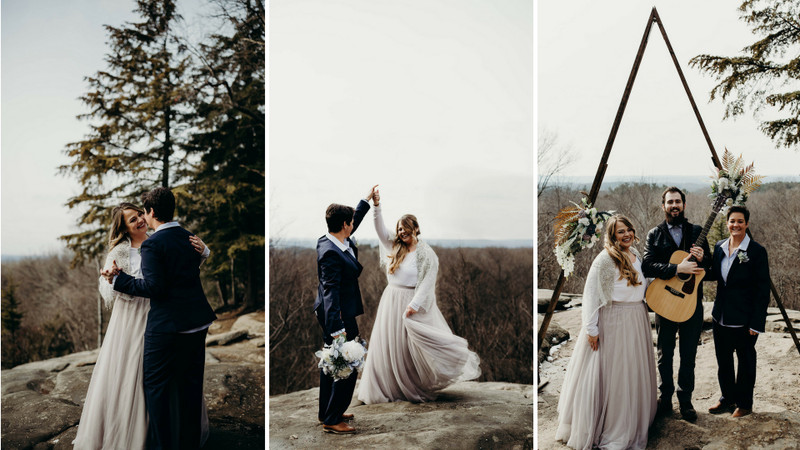 This Enchanting National Park Elopement Is Filled With Bridal Bliss