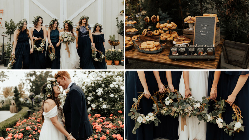 This Trendy DIY Wedding Is The Epitome Of Rustic-Bohemian Glam