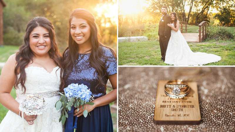 A Rustic Ranch Wedding Gets a Touch of Glam in This Outdoor Texas Ceremony