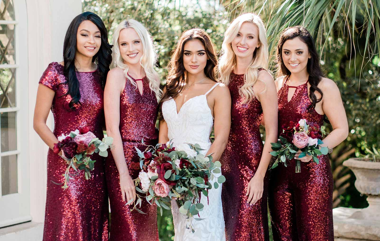 Bride and Bridesmaid Dresses