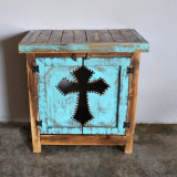 Cristiano Cross Side Table