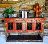 Esmerelda Buffet in Red