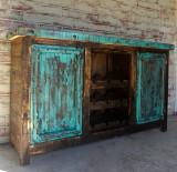 Borracho Wine Rack in Turquoise