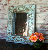 Isadora Carved Mirror