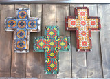 Old West Talavera Cross