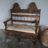 Colima Cowhide Bench